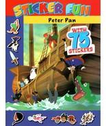 Peter Pan - Sticker Fun - Sticker Activity Book with 75 Stickers - $5.93