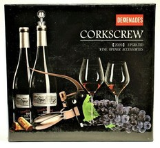 Wine Bottle Opener Rabbit Corkscrew Set-2020 Demenades Wine Opener Sealed - $8.15
