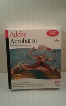 Adobe Acrobat 5.0 Education Version - Full Version for Windows 22001439 NEW - $49.49
