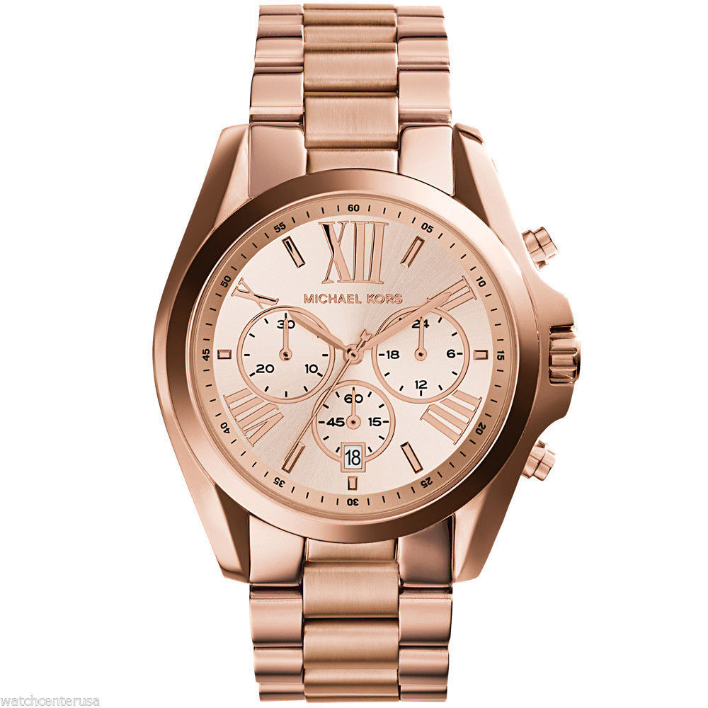 562796e215a9 Michael Kors Roman Numeral Watch MK5503 Rose and 50 similar items