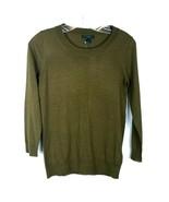 J.CREW Lightweight Soft 100% Merino Wool Sweater Crew Neck Women's size ... - $12.86