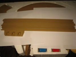 "1989 Aurora Devil's Ditch Slot Car Playset piece: 15"" Terminal Straight Track - $5.00"