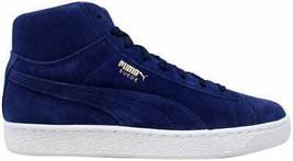 Puma Suede Classic Mid Blue Depths 363866 03 Men's Size 7 - $69.96