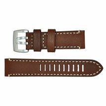 Luminox Watch Band Series 1800 Dark Brown Silver Buckle 23mm FE1800.70Q - $48.02