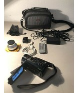 Canon VIXIA HF G21 Full HD Camcorder OEM Bag - Bundle 2 Batteries Digita... - $589.05