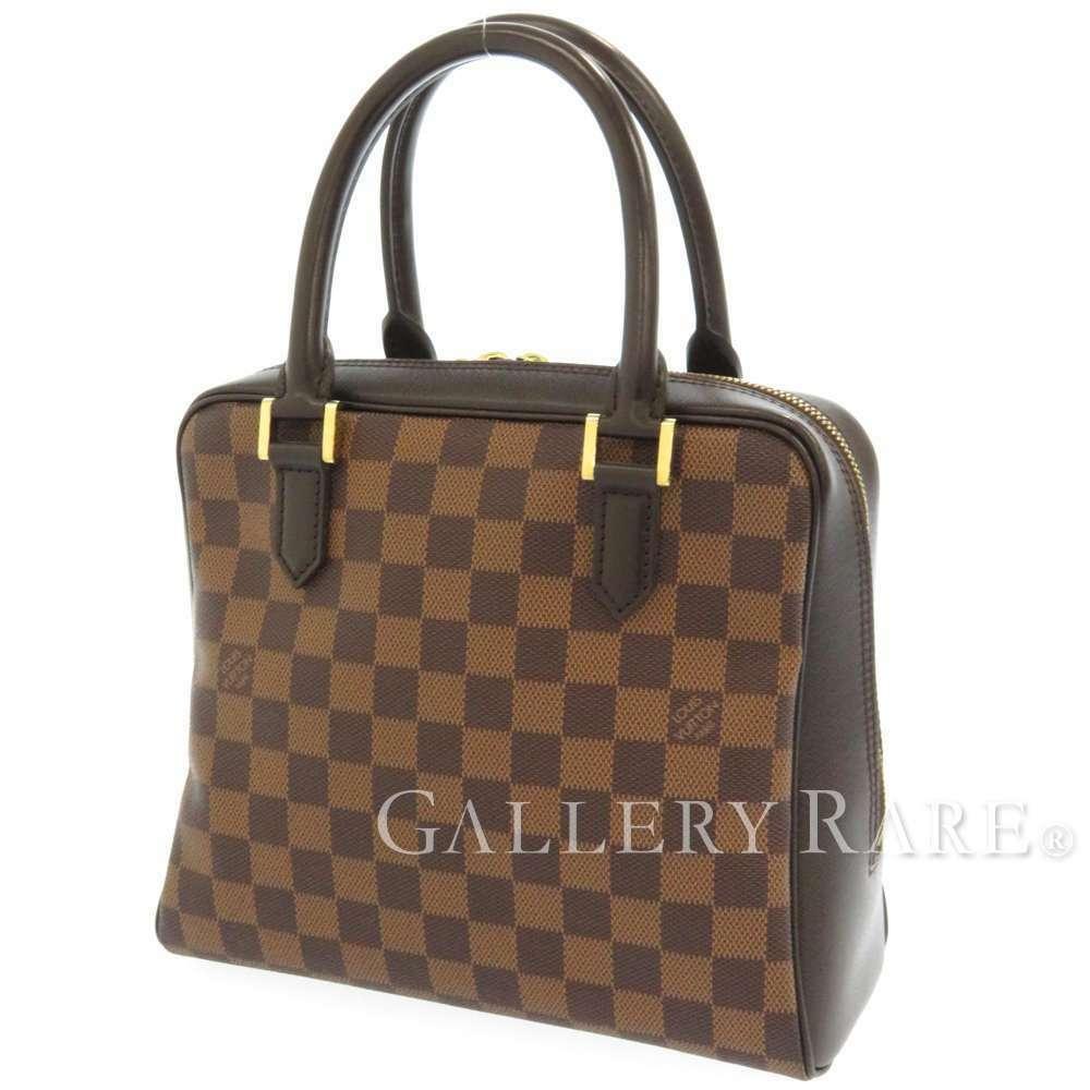 LOUIS VUITTON Brera Damier Canvas Ebene Handbag N51150 France Authentic