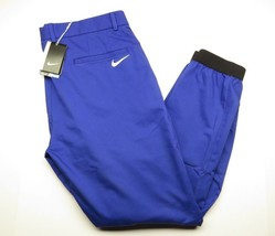 New Nike Golf Athletic Sport Adult Men's Jogger Style Blue Pants Size 36 Nwt - $79.15