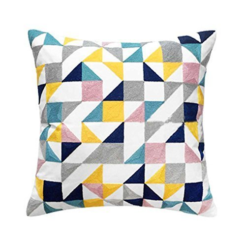 George Jimmy Modern Geometry Pattern Decorative Pillows Throw Pillows for Sofa/C