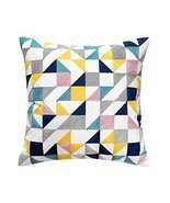 Modern Geometry Pattern Decorative Pillows Throw Pillows for Sofa/Couch,... - ₹2,107.15 INR
