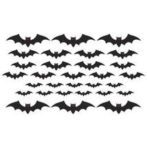 Mega Bat Cut Outs Value Pack Cemetery 30 Pc - $9.50 CAD