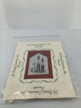 "The Design Connection Cross Stitch Kit Santa Candles 1993 5 1/4""X81/2"" D42 - $12.19"