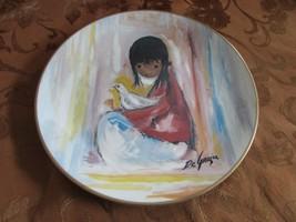 """Gorham Collector Plate The White Dove By De Grazia 1977 Ltd Ed 10-5/8"""" - $16.78"""