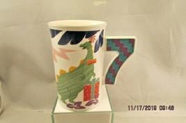 Mikasa  Dinosaur Presents Happy 7 BIRTHDAY Ironstone Tall Mug CC211 chil... - $12.19