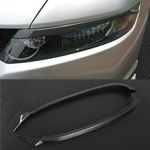 Carbon Fiber Car Headlight Cover Eyebrows Eyelid Trim For Honda Odyssey ... - $48.50