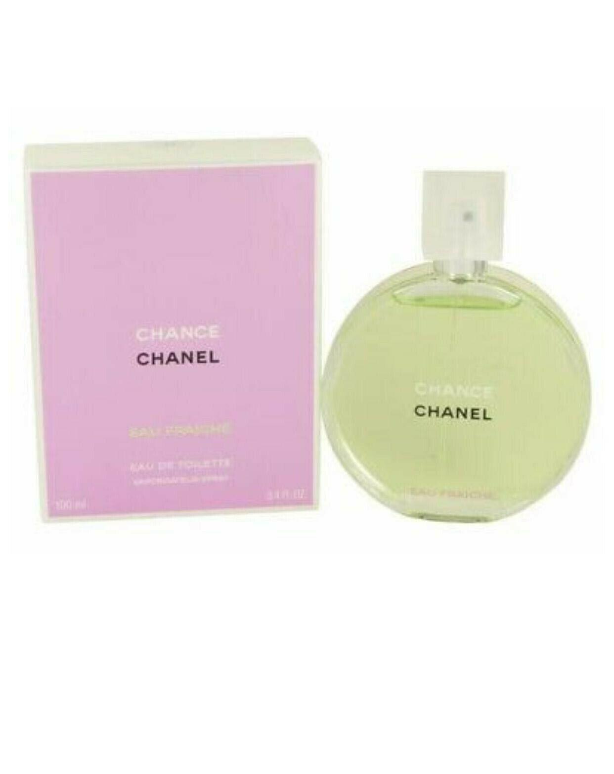 Chanel Chance Eau fraiche EAU TOILETTE 3.4 oz. WOMENS PERFUME! In retail box! - $93.26