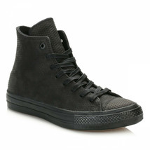 Converse Chuck Taylor All Star II Hi Black Gum Lunarlon Womens Size 8 155762C - $79.95