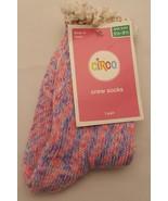 Circo Lace Top Tye Dye Crew Girl's Socks Shoe SZ 5.5 - 8.5 , Purple Pink... - $0.99