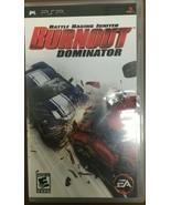 BURNOUT DOMINATOR PLAYSTATION PORTABLE #I-297 C - $14.84