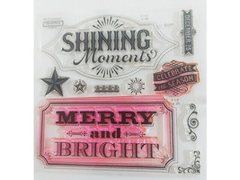 Close to My Heart Sparkle and Shine Clear Stamp Set #D1577 image 2