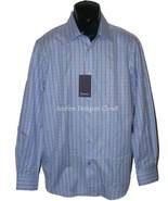 Nuova con Etichetta Robert Graham Size-16.5 42 Camicia Blu Bianco a Righe - $97.38
