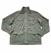 Eddie Bauer Men's Radiator Sweater Fleece Jacket, Color:Charcoal Heather... - $22.39
