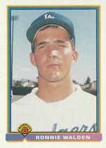 1991 Bowman #615 Ronnie Walden RC - $0.50