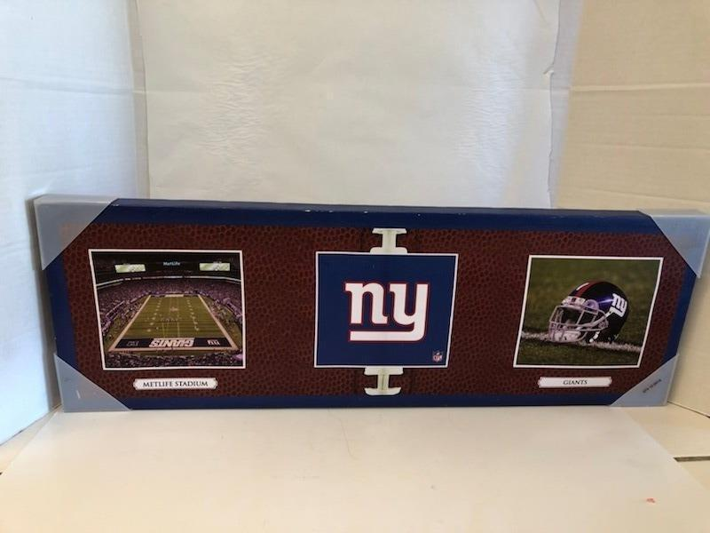 Primary image for Giants NFL Picture Photo Helment Field Metlife Stadium NFL NY Canvas