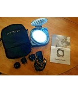 LITEBOOK ELITE Portable Light Therapy Model 2.02 with Carry Case, Plug &... - $19.79