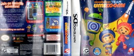 Nintendo DS Nickelodeon Team Umizooml - replacement Case and art Work - $3.00