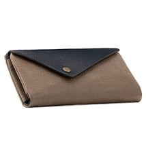 Otto Angelino Genuine Leather Envelope Wallet with Phone Compatible Slots - RFID