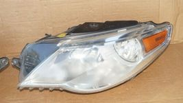 09-12 VW Volkswagen CC Halogen Headlight Head Lights Matching Set L&R image 3