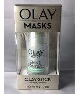 Face Masks by Olay, Shine Control with Tea Tree Extract, Facial Mask Sti... - $7.98
