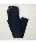 Women's American Eagle Outfitters Dark Wash Skinny Jeans sz 8 - $27.95