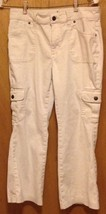Arizona blue jeans white size 14 plus 30 waist inseam 24 1/2 ladies 2% spandex - $6.95