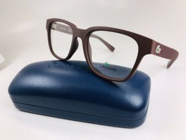 New LACOSTE L2794 604 Matte Burgundy Eyeglasses 52mm with Lacoste Case - $79.15