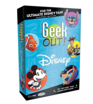 Geek Out: Disney Trivia Board Game 120 Cards 2-99 Players Ages 10+ - $24.74