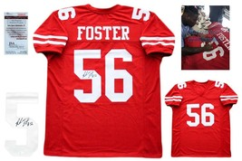 Reuben Foster Autographed SIGNED Jersey - JSA Witnessed Authentic w/ Photo - Red - $138.59
