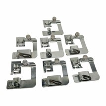 7pcs Foot Roll Of Domestic Sewing Machine Hemmer Snap On For Singer Brot... - $23.75+