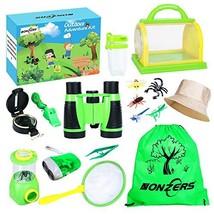 NONZERS Adventure Kit, Kids Bug Catching Kit, Kids Outdoor Exploring Kit with Bi