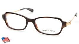 New Michael Kors MK8023 Abela V 3135 Tortoise Eyeglasses Frame 52-17-135 B32mm - $58.40