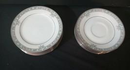 Noritake Legendary LUNCEFORD 3884 Bread & butter & saucer plates lot OF 14 - $34.65