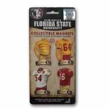 NCAA -  4 Pack Uniform Magnet Set - Ncaa - Florida State University  - $5.99