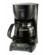 Mr. Coffee 4-Cup Programmable Coffeemaker DRX5 Black - $30.89