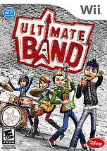 Ultimate Band (Nintendo Wii, 2008) No Case - $9.89