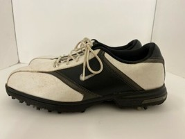 NIKE GOLF HERITAGE Men's Shoes Cleats Size 12 White Black 418624-101 - $29.65