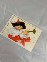 Vtg Famous Artists Studios Welcome To '76 Christmas New Year Card Ephemera - $15.47