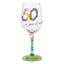 Non Metal Lolita 50 Is Just A Number Wine Glass (Length=3.25) (Width=3.2... - $33.32