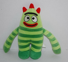 "Brobee Yo Gabba Gabba Plush Toy Stuffed Animal 10"" Green Monster Doll TV Show  - $14.80"