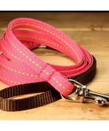 Berry Lime Puppy Leash (120cm, 4ft.) from MontanaDog / Made in Japan - $29.00