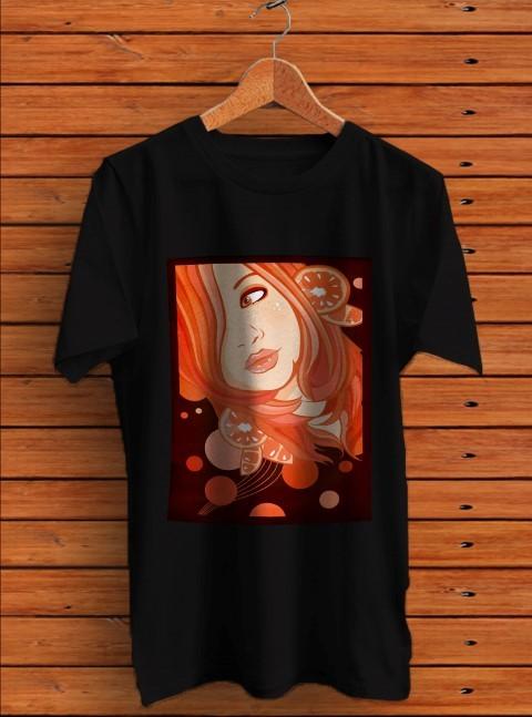 Retro rare tangerine dream t shirt men s black